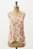 The sweet floral print and slouchy pockets remind us of our favorite pieces from our childhood — albeit with a cooler racerback to flash a little skin.  Dress Gallery Swathed Racerback Tank ($178)