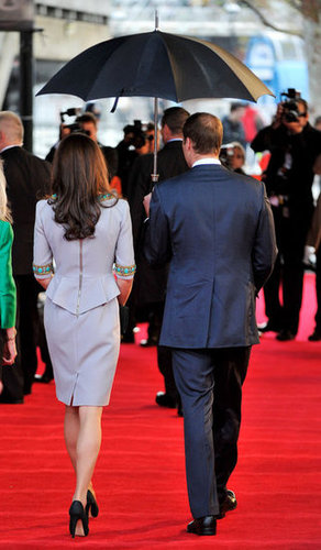 We love the peplum and exposed zipper detail — how edgy of Kate!