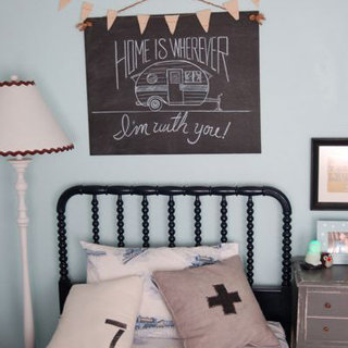 Vintage-Inspired Little Boys Room