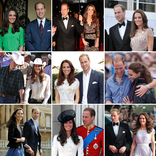 The Best Pictures From William and Kate's First Year of Marriage