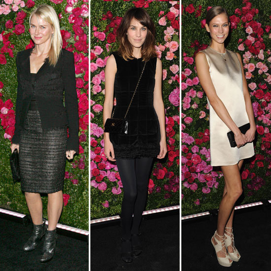 Naomi Watts, Alexa Chung and Karlie Kloss Get Fancy For a Dinner With Chanel and Tribeca