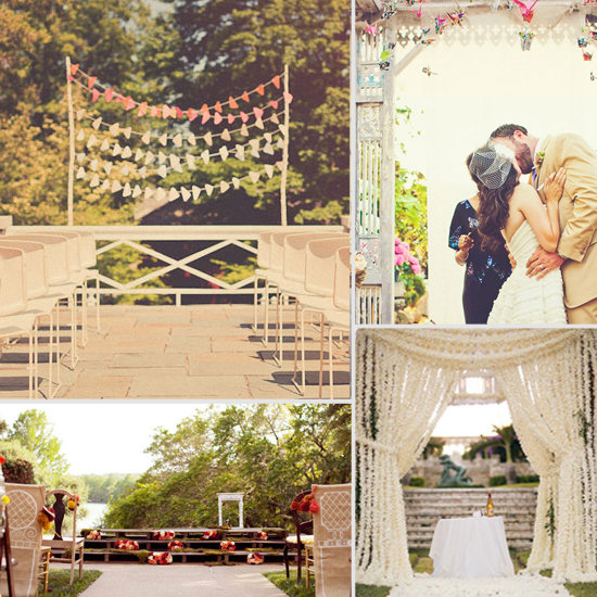 Wedding Altar Weheartit: Casa's Got Plenty Of Ideas For Unique Outdoor Altars