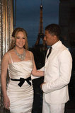 Nick Cannon gazed upon his lovely bride.