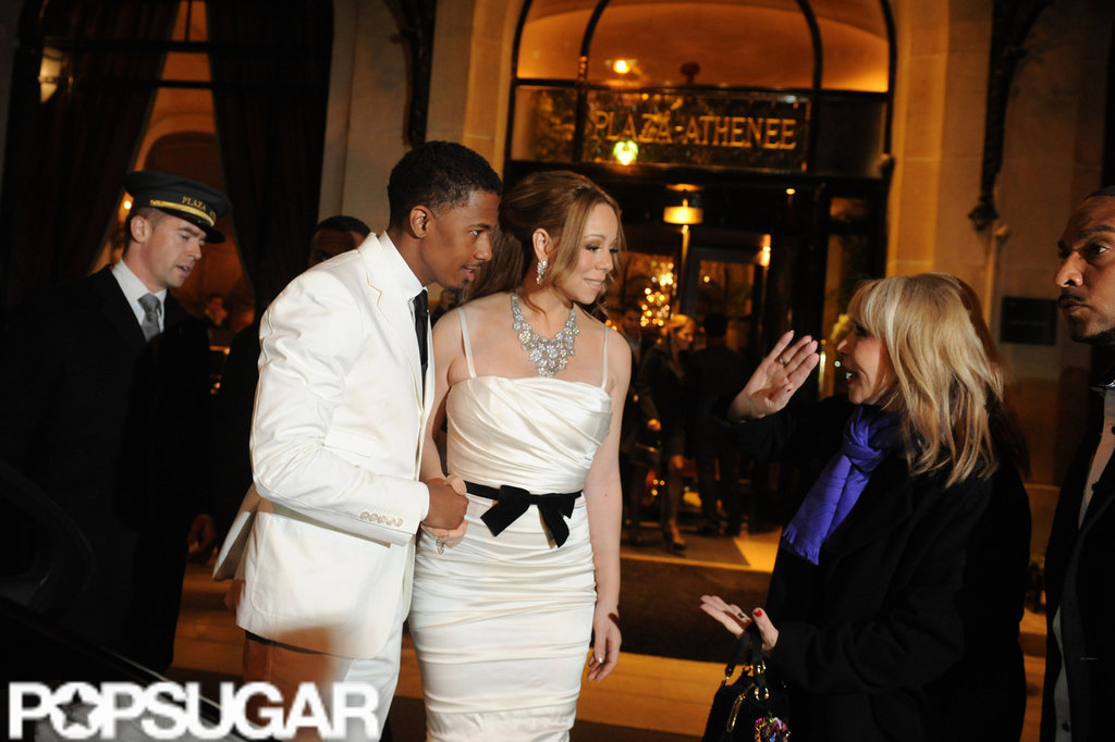 Nick Cannon and Mariah Carey Renew Their Vows in Paris!