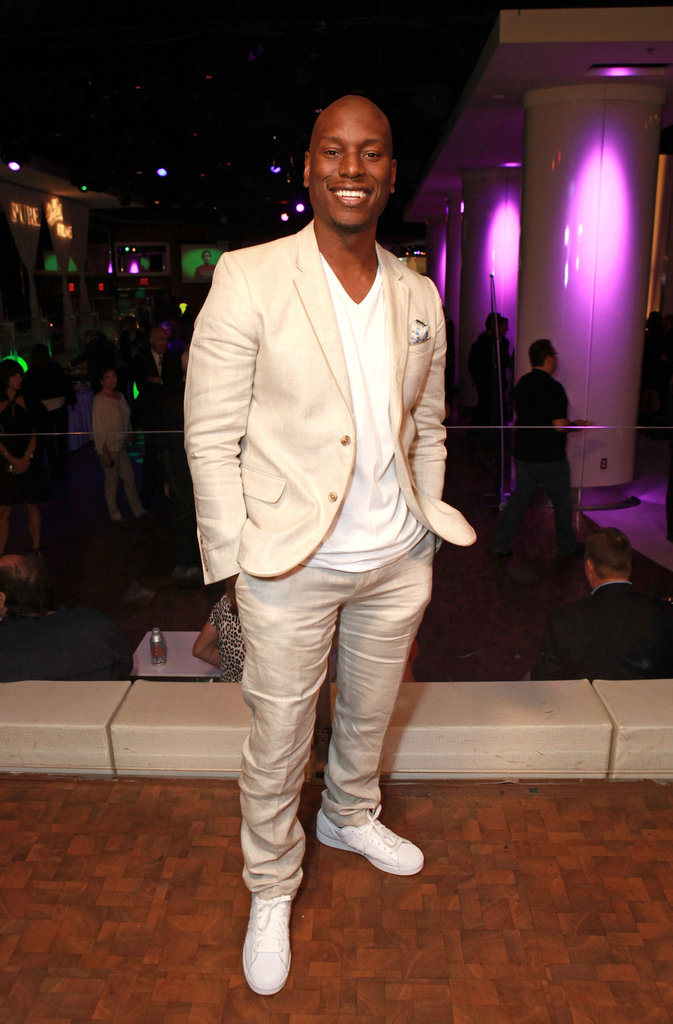 Tyrese Gibson attended the CinemaCon awards ceremony in Las Vegas.
