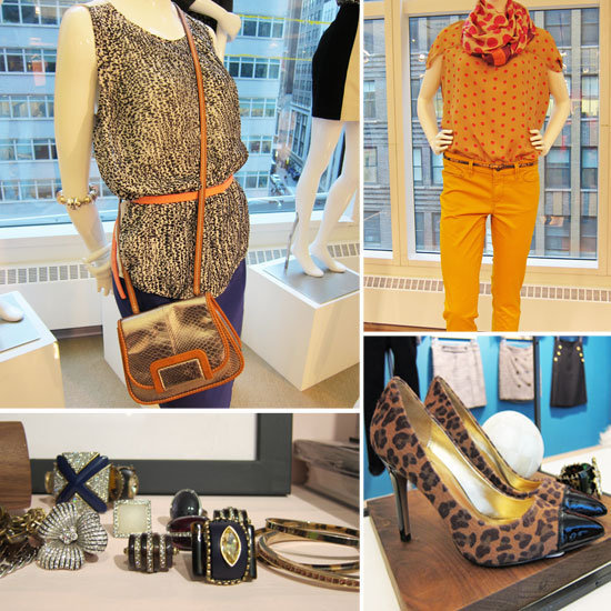 First look: LOFT Fall '12 offers up bold prints, pretty pleats, and cool pumps — all under $150. Check out all the super accessible pieces here.
