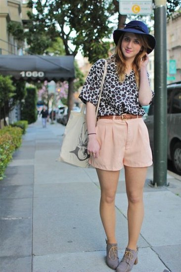 Peach and Leopard