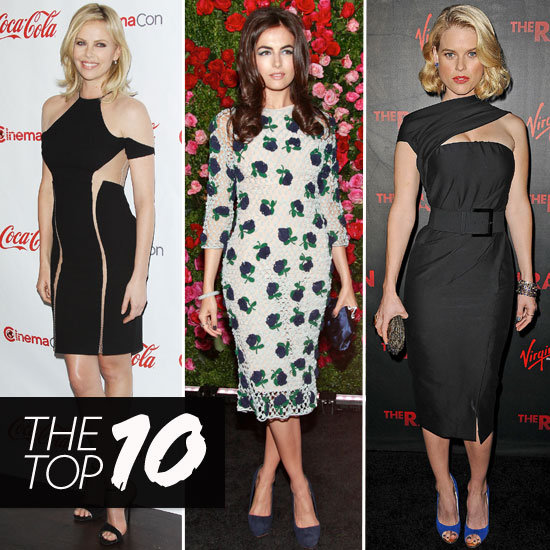 Fab's Top 10 Celebrity Looks of the Week — Charlize, Camilla, Alice Eve, and More!