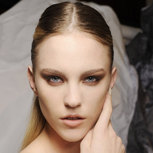 2012 MBFW Backstage Beauty Report: Toni Maticevski Hair and Makeup