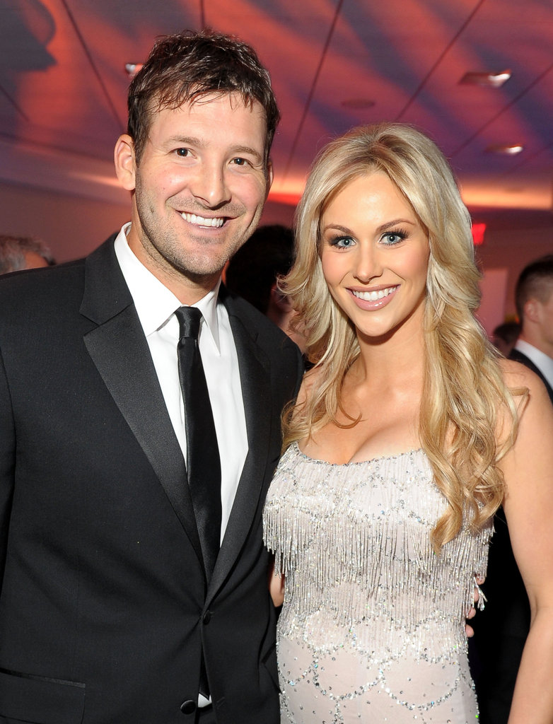 Tony Romo and Candice Crawford posed together at the White House Correspondant's Dinner.