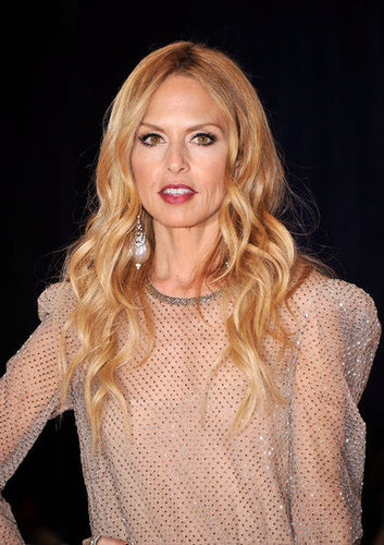 Rachel Zoe showed off her wavy blonde locks at the White House Correspondant's Dinner.