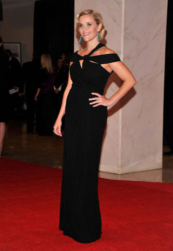 Reese Witherspoon posed on the red carpet ath the White House Correspondant's Dinner.