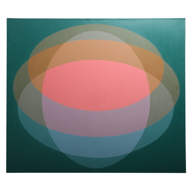This Marjorie Helen Thomas Geometric Painting ($5,500) has a nearly hallucinogenic effect when you stare at it long enough.