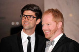 Jesse Tyler Ferguson and Justin Mikita posed for a shot.