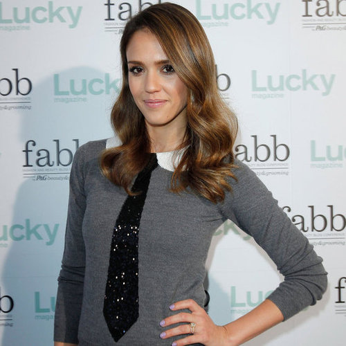 Jessica Alba at Lucky Magazine Event Pictures