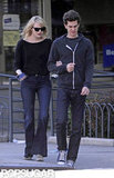 Emma Stone and Andrew Garfield were arm-in-arm for a walk around the West Village and NYC.