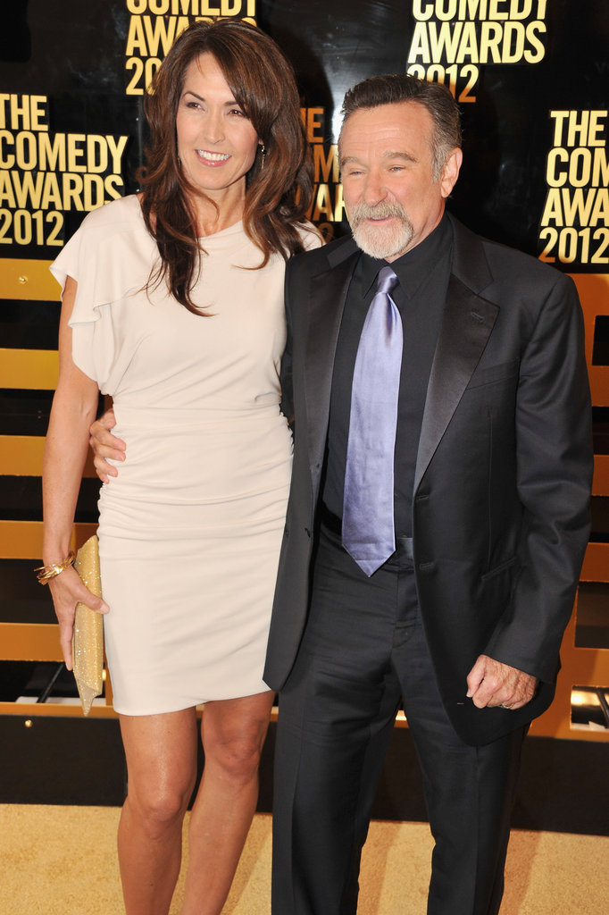 Robin Williams posed at the Comedy Awards in NYC.