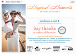 Thank a Mom Campaign