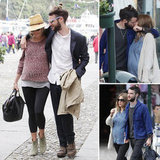 Pregnant Sienna Miller and Tom Sturridge Show Off PDA in Italy