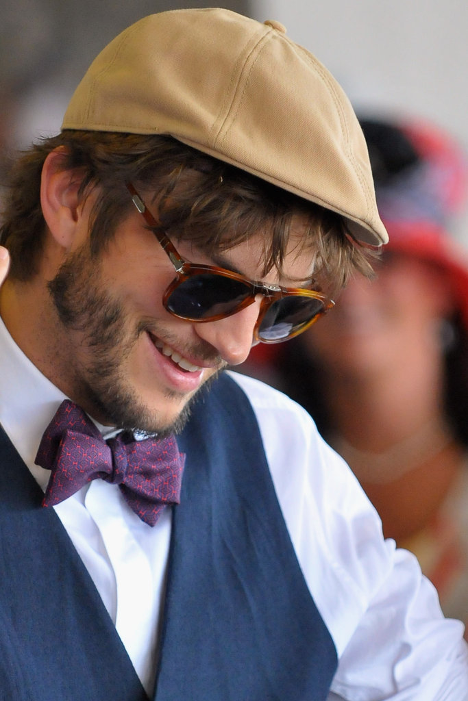 Tom Brady and Ashton Kutcher Break Out Their Best For Kentucky Derby