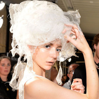 Akira Spring Summer 2012 Backstage Beauty Report