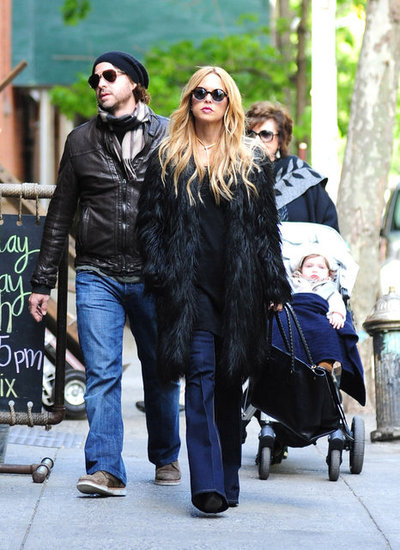 Rachel Zoe and Rodger Get Back to Skyler Following a Glamorous Weekend