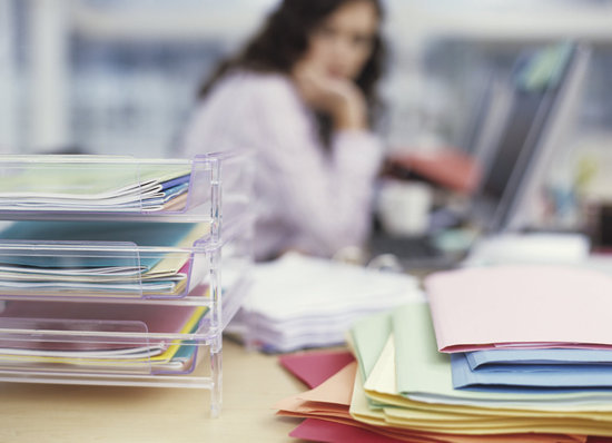 Clear Up Your Desk Clutter