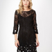 No. 1 by Jenny Packham Black Sequin Shift Dress ($178)