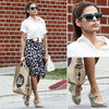 Eva Mendes Retro Spring Style 2012
