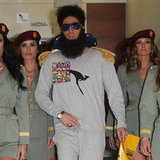 Sacha Baron Cohen as The Dictator Arriving in Sydney Pictures