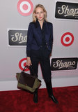 Leelee Sobieski looked fashionable in a navy blue blazer at The Shops at Target launch party in NYC.