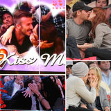 Celebrities Caught Locking Lips on the Kiss Cam!