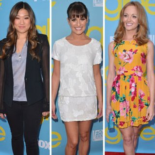Lea Michele Pictures at Glee Screening