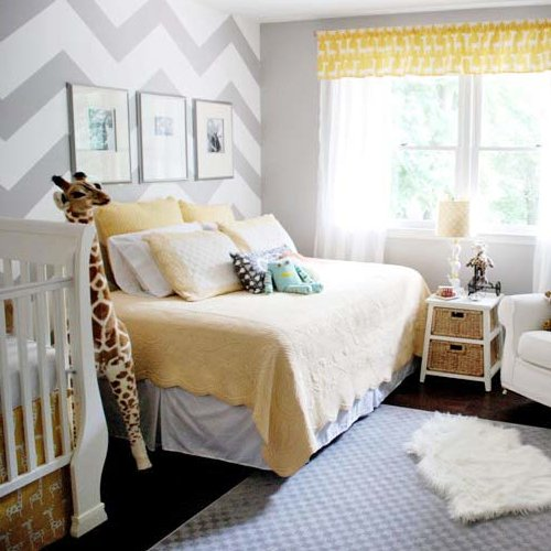 Yellow and Gray Nursery