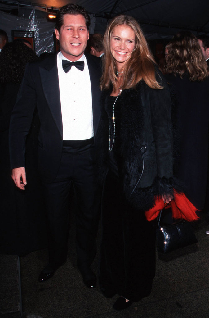 Arpad Busson and Elle Macpherson — 1999