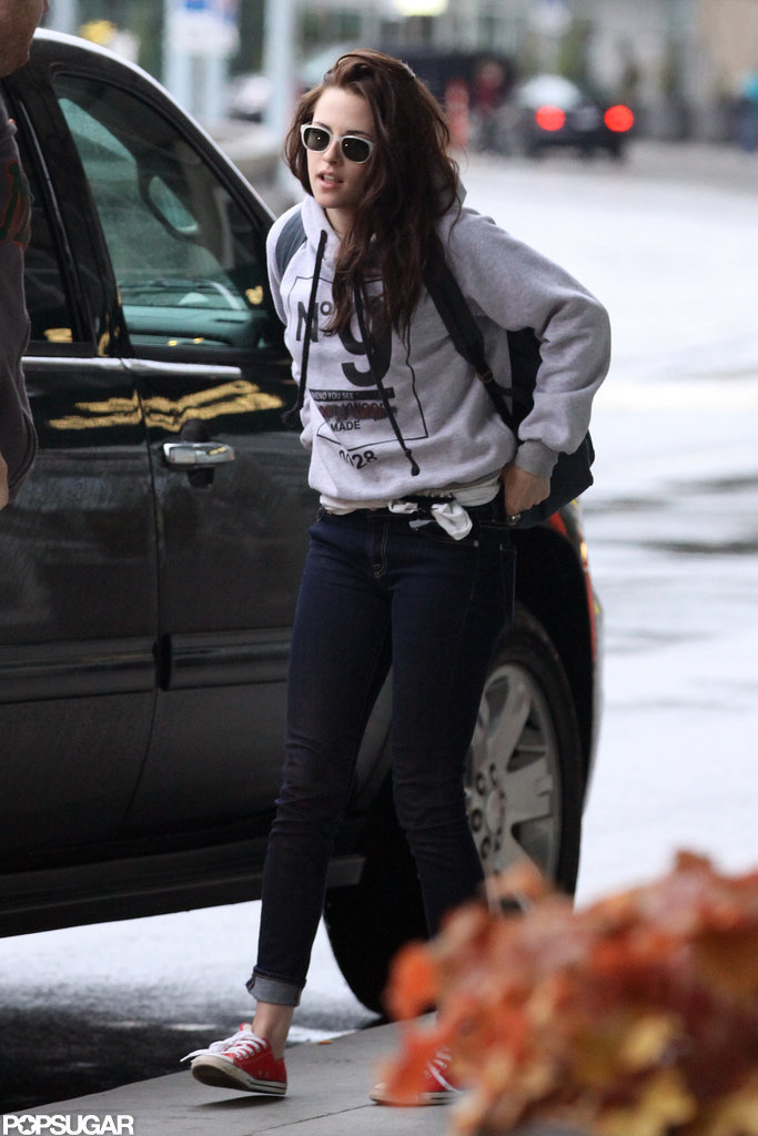 Kristen Stewart left Vancouver after Breaking Dawn — Part 2 reshoots.