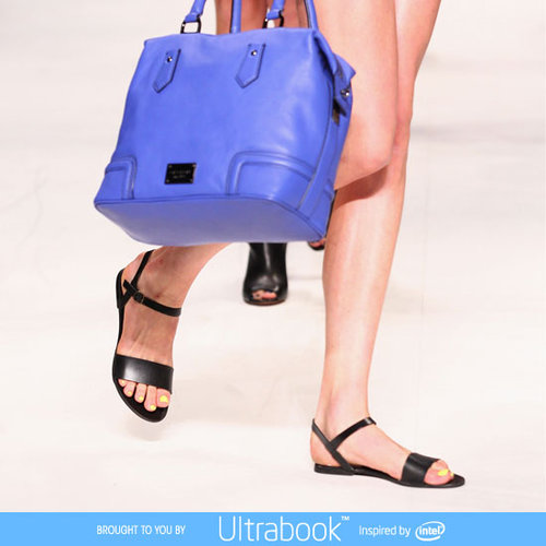 Pictures and Runway Review of Oroton Spring Summer 2012-2013 Mercedes Benz Fashion Week Australia Catwalk Show