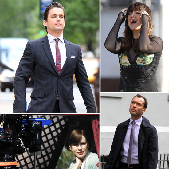 Matt Bomer, Nicole Kidman, and More Stars on Set!