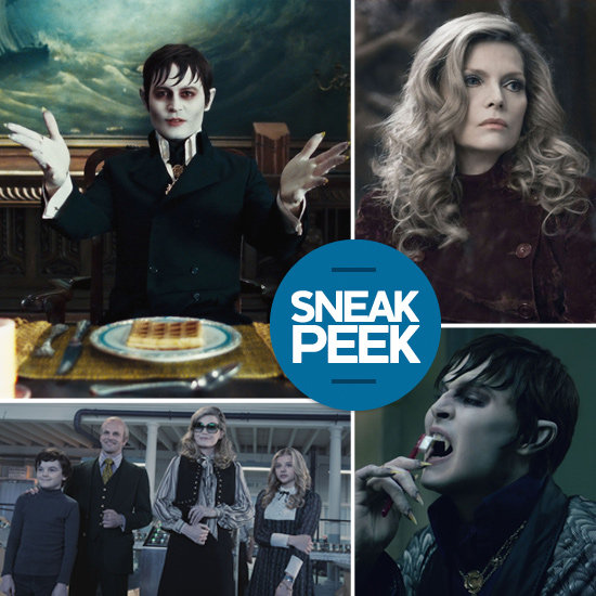 See Johnny Depp as a Vampire and More Dark Shadows Pictures