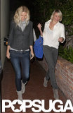 Cameron Diaz and Gwyneth Paltrow hung out.