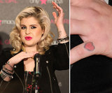 Kelly Osbourne got a small red heart tattooed on her left pinky finger.