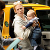 January Jones Pictures in NYC With Xander