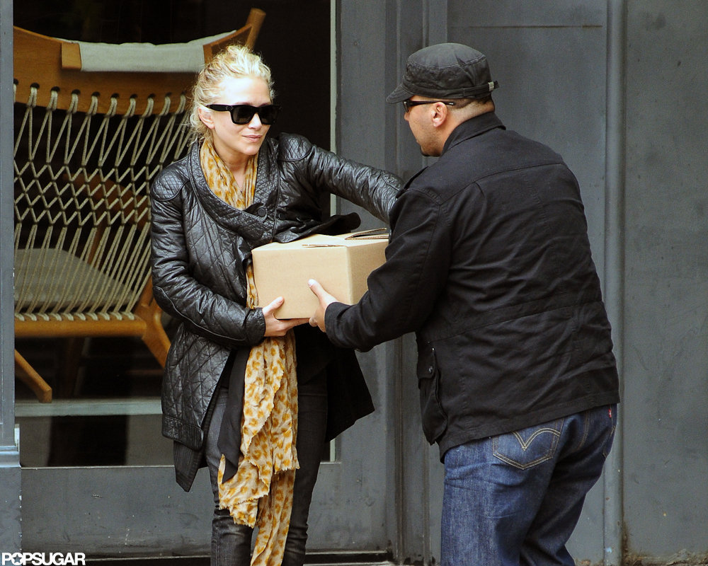 Mary-Kate Olsen went shopping in NYC.