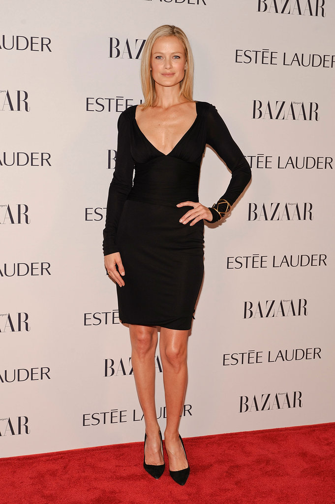 Carolyn Murphy (whose supermodel genes defy all logic) proved sometimes all you need is the perfect LBD.