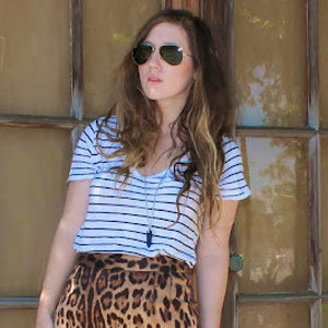 Leopard Pencil Skirt Street Style