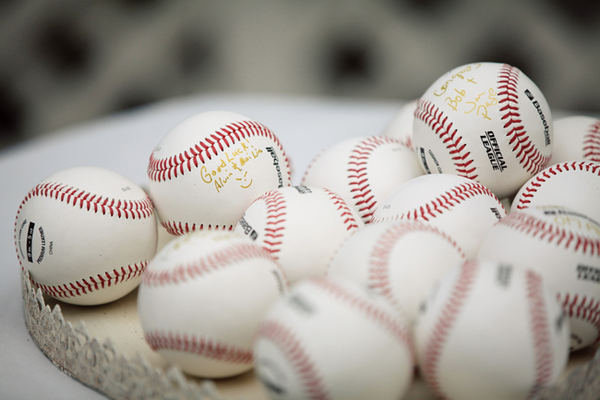 Guest Book Baseballs