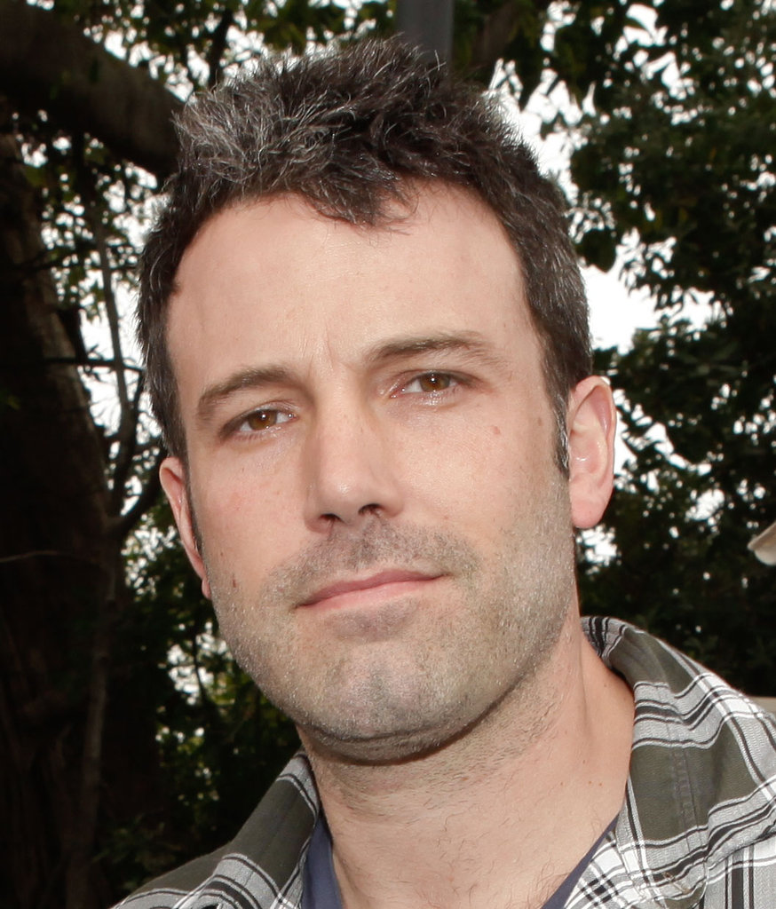 Ben Affleck showed off a bit of gray hair at a charity poker tournament in LA.