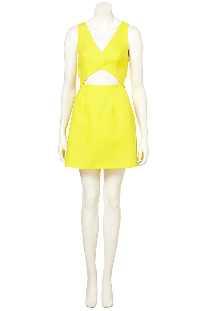 Topshop cutout sun dress ($92)
