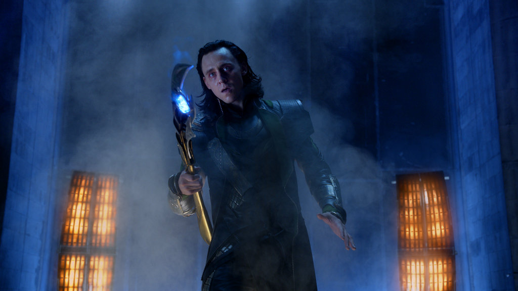 Tom Hiddleston as Loki in The Avengers.  Photo courtesy of Disney