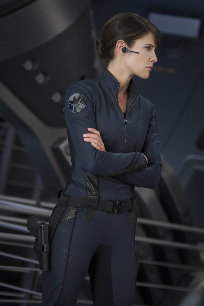 Cobie Smulders as Agent Maria Hill in The Avengers. Photo courtesy of Disney
